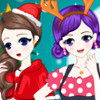Christmas Friends  - Christmas Dress Up Games