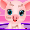Baby Piggy At The Doctor - Animal Doctor Games
