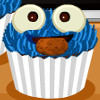 Cookie Monster Cupcakes - Cooking Games For Girls