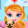Baby Barbie Pet Doctor - Pet Doctor Games