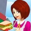 Norah's Sandwich Cafe  - Food Serving Games
