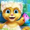 Baby Ginger Bath  - Animal Bathing Games