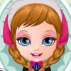 Baby Barbie's Frozen Costume  - Frozen Dress Up Games