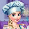 Elsa's Wedding Cake  - Cake Decoration Games