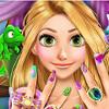 Rapunzel Manicure - Manicure Games For Girls