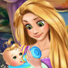 Rapunzel Baby Feeding - Baby Care Games