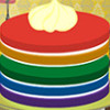 Rainbow Cake  - Cake Cooking Games