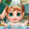 Anna's Baby Wash - Baby Care Games