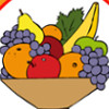 Coloring Book: Fruits  - Fun Coloring Games For Girls