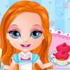 Baby Barbie Cake Shop  - Baking Games