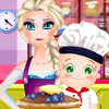 Elsa And Rosy Cooking Pancakes - Cooking Games For Kids