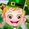 Baby Hazel St. Patrick's Day - St. Patrick's Day Games For Girls
