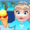 Baby Elsa Cooking Homemade IceCream - Ice Cream Cooking Games
