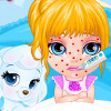 Baby Barbie Chickenpox Attack - Barbie Doctor Games