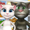 Tom Family Shopping And Cooking  - My Talking Tom Games