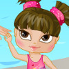 Swimming With Mom - Play Baby Dress Up Games
