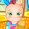 Baby Rosy Room Cleaning  - Best Clean Up Games