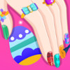Barbie Easter Nails Designer  - Easter Nail Art Games