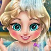 Elsa Baby Wash - Baby Bathing Games