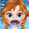 Anna's Throat Care  - Frozen Anna Games