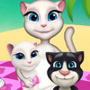Talking Angela Picnic Day - Picnic Decoration Games