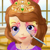 Princess Sofia Face Art - Princess Sofia The First Games