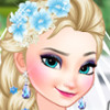 Bride Elsa And Bridesmaid Anna  - Frozen Elsa And Anna Games