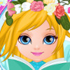 Baby Barbie Flower Braids  - Hair Styling Games Online