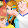 Anna And Kristoff Newborn Princess - Baby Care Games Online
