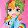 Baby Barbie's Little Pony  - Pet Pony Games