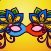Coloring Book: Masquerade Masks  - Coloring Games Online