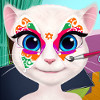 Talking Angela Face Painting  - Face Painting Games