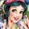 Snow White's Manicure  - Nail Design Games
