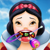 Snow White Throat Doctor  - Free Doctor Games