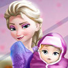 Elsa And The Newborn Baby - Baby Birth Games