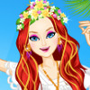 Hippie Beach - Beach Dress Up Games