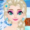 Elsa's Sparkling Eyelashes - Elsa Makeover Games
