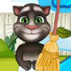 Baby Tom Garden Cleaning  - Cleaning Games Online