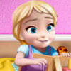 Anna Playing With Baby Elsa  - Frozen Games Online