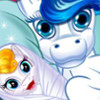 Cute Baby Pony Birth  - Pony Care Games