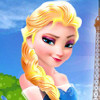 Elsa Goes To Paris  - Fun Elsa Games For Girls