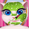 Talking Angela's Makeover  - Talking Angela Games For Girls