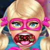 Barbie's Sister Throat Doctor  - Doctor Games For Girls