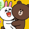 Brown And Cony Line Love  - Fun Spot The Difference Games