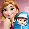 Anna And The Newborn Baby  - Anna Frozen Games Online