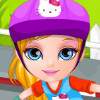 Baby Barbie Skateboard Accident - Baby Barbie Games For Kids