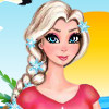 Elsa And Angela Surfing Time  - Elsa Frozen Games Free Online