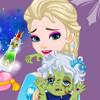 Elsa's Zombie Baby  - Frozen Elsa Games For Girls