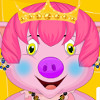 Princess Piggy Hair Salon  - Cute Hair Salon Games