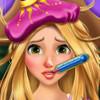 Rapunzel Flu Doctor  - Free Doctor Games